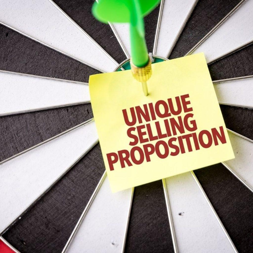 USP: Unique Selling Proposition