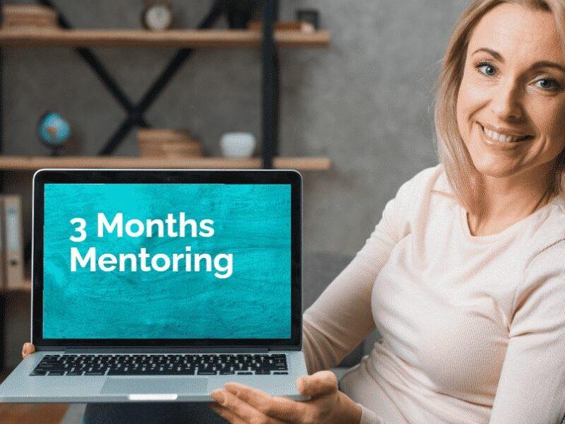 3 months mentoring