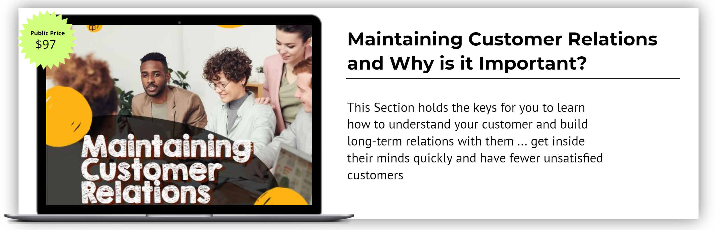 Maintaining Customer Relations