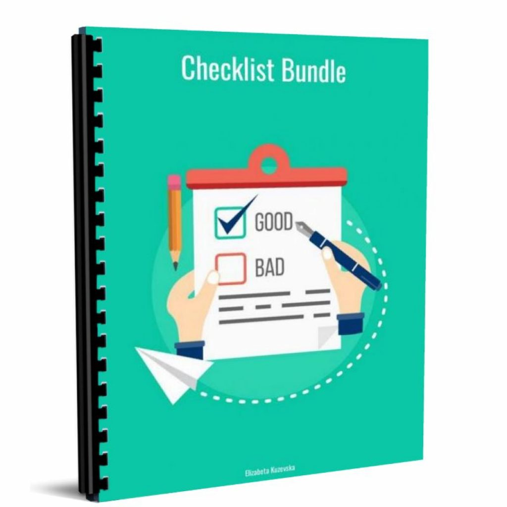 checklist bundle (2)