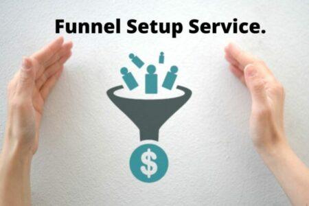 Funnel Setup Service.